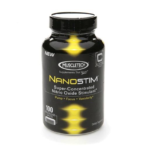 NanoStim Oxido Nitrico Estimulante MuscleTech 100 capsulas