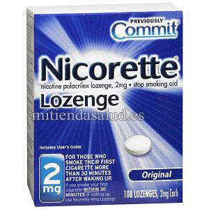 Nicorette Stop Smoking 2 mg  (Dejar de Fumar) 108 Chicles