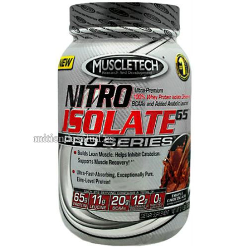 Nitro Isolate 65 Pro Series MuscleTech Triple Chocolate 2.1lb