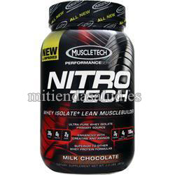 Nitro-Tech Performance Series Milk Chocolate MuscleTech 2 lbs (0.9kg)