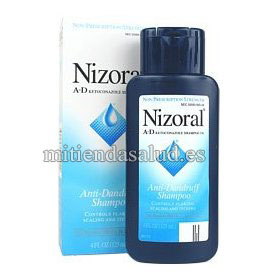 Nizoral Anti-Dandruff Shampoo (Anti caspa)- 1 Frasco de 207 ml