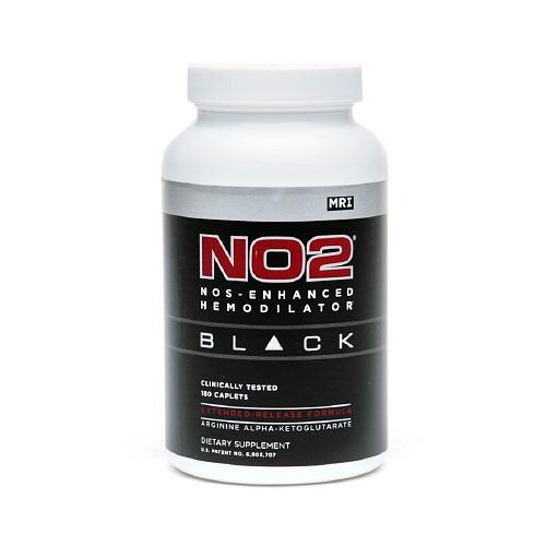 NO2 Black MRI 180 capsulas