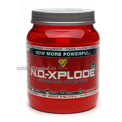 N.O. Xplode Advanced Strength 2.0 BSN Orange