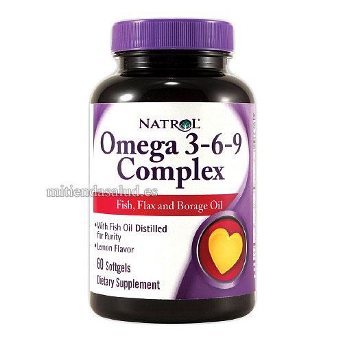 Omega 3 6 9 Complex 60 capsulas Natrol