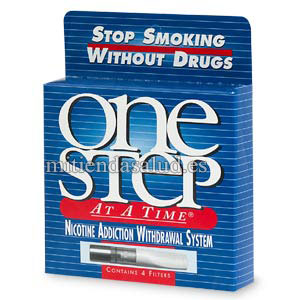 One Step at a Time Adicción a la nicotina Sistema de abstinencia 4 filtros