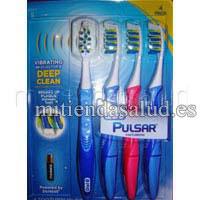 Oral-B Set de 4 cepillos de dientes Pulsar