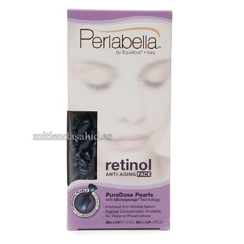 Retinol Anti-edad PureDose Perlas faciales Perlabella 28 u