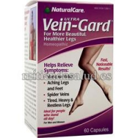 Vein Gard Natural Care 60 capsulas para venas y varices