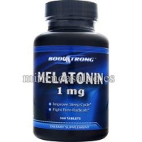 Melatonina 1 mg Bodystrong 360 tabletas