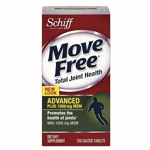 Move Free Advanced Plus 1500mg MSM 120 tabletas