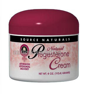 Crema Progesterona Natural Source Naturals Tubo 4 oz