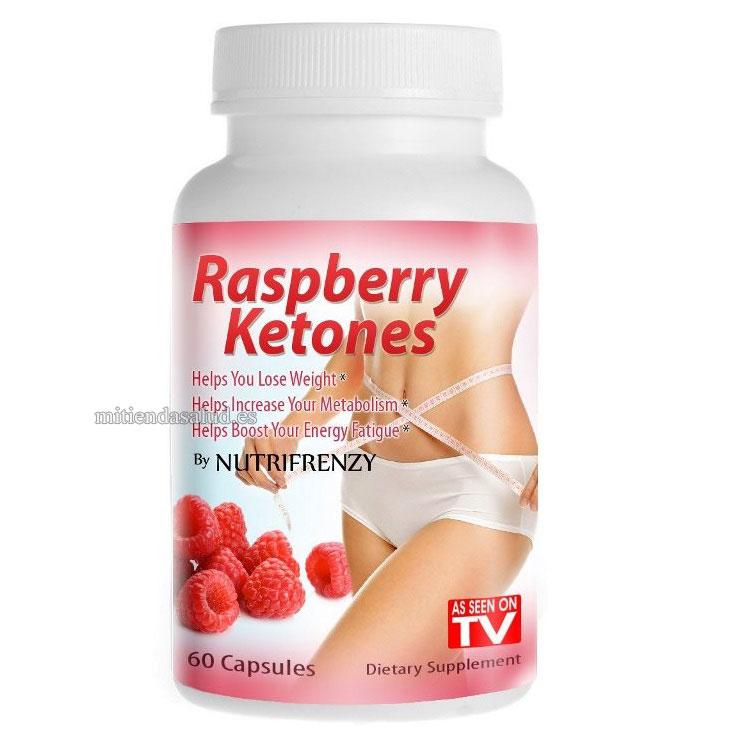 Raspberry ketone Nutrifrenzy y quítate el peso de encima.