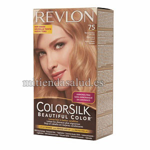 Revlon Colorsilk Beautiful Tinte permanente para cabello Color Warm Golden Blonde 75