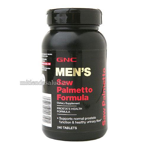 Saw Palmetto Formula GNC Hombres 240 capsulas