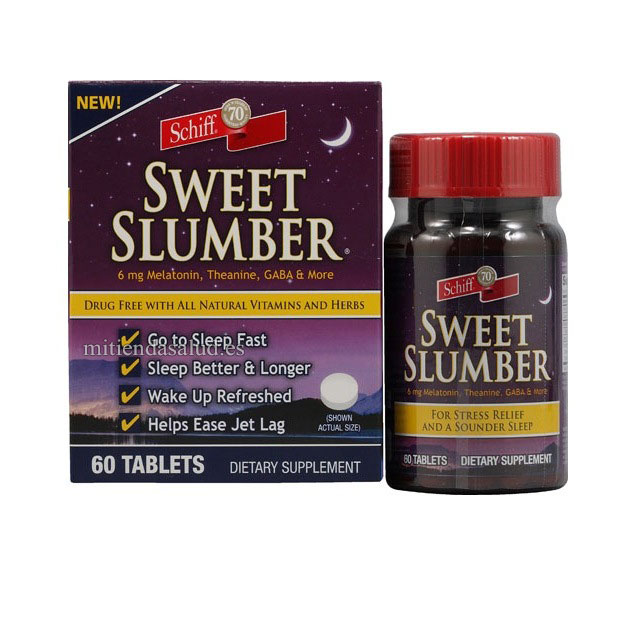Sweet Slumber Schiff 60 capsulas