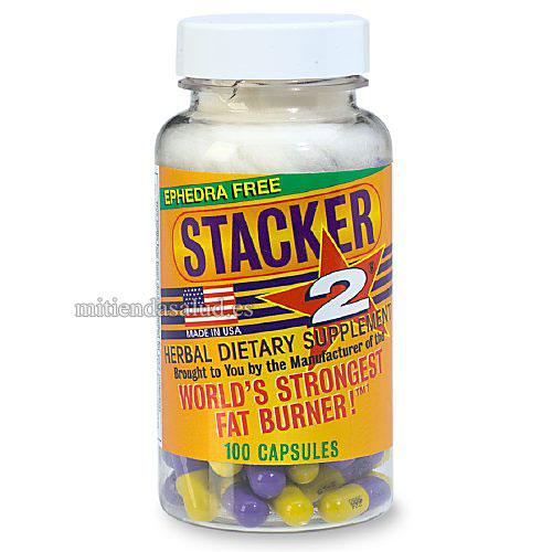 Stacker 2 sin efedrina 100 capsulas