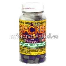 Stacker 3 sin efedrina con Chitosan 100 Capsulas