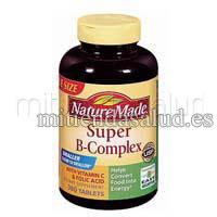 Super B Complex Nature Made 60 tabletas