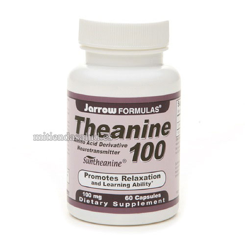 Theanina 100 Jarrow Formulas  60 capsulas