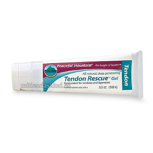 Tendon Rescue Gel para dolor de tendondes y ligamentos Peaceful Mountain  3.5 oz (100 g)