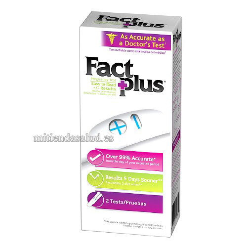 Test de embarazo Fact Plus  2 u