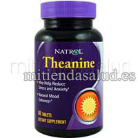 Theanine - Teanina Natrol 60 Tabletas