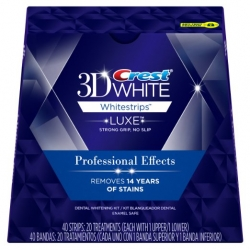 Crest 3D Whitestrips Professional Effects 20 tiras