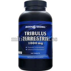 Tribulus Terrestris 1000 mg Bodystrong 360 capsulas
