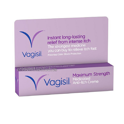 Vagisil Maximum Strength (crema para el picor vaginal) 28 g