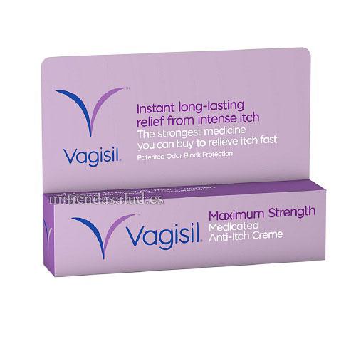 Vagisil Maximum Strength(crema para el picor vaginal) 28 g