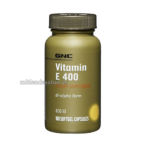Vitamin E 400 GNC 100 capsulas