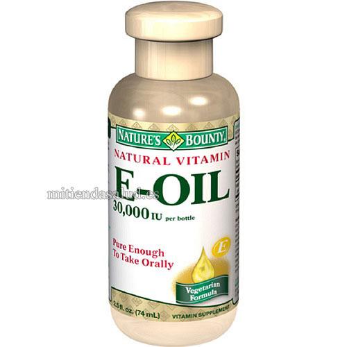 Vitamina E Natural  Aceite 30,000 IUNature's Bounty 2.5 fl