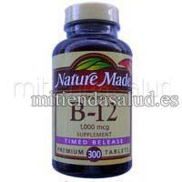 Vitamina B12 Nature Made 1000 mcg 300 capsulas