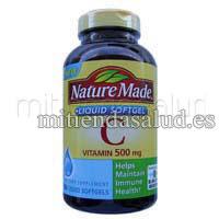 Vitamina C 500 mg Nature Made 180 capsulas