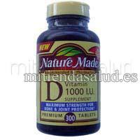 Vitamina D 1000 U.I. 560 tabletas