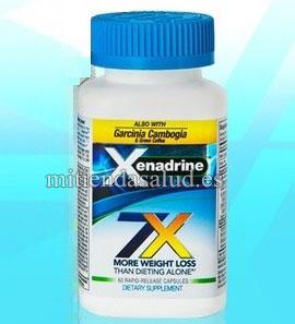 Xenadrine 7x 60 capsulas