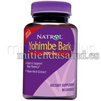 Yohimbe Bark 500 mg 135 capsulas