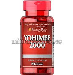Yohimbe 2000mg 50 capsulas